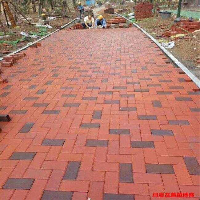 西安任昊和建材分享重新铺装透水砖人行道融入海绵城市理念