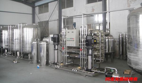 陕西瑞泉水处理分享高纯水反渗透设备的水处理工艺流程