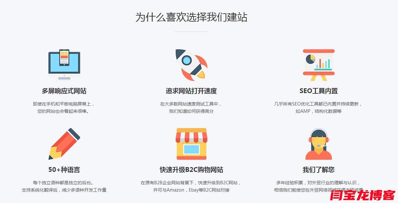 建立外贸营销站