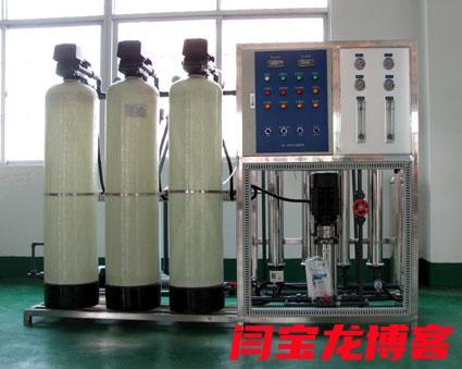 陕西瑞泉水处理分享高纯水反渗透设备漏水是哪些原因造成的?